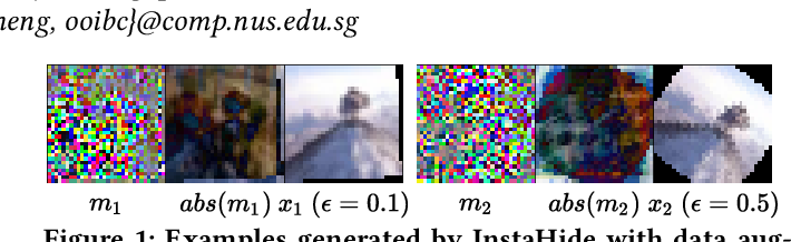 Figure 1 for A Fusion-Denoising Attack on InstaHide with Data Augmentation