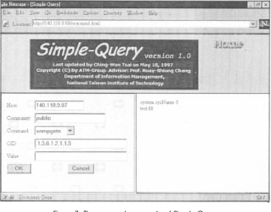SNMP through WWW - Semantic Scholar