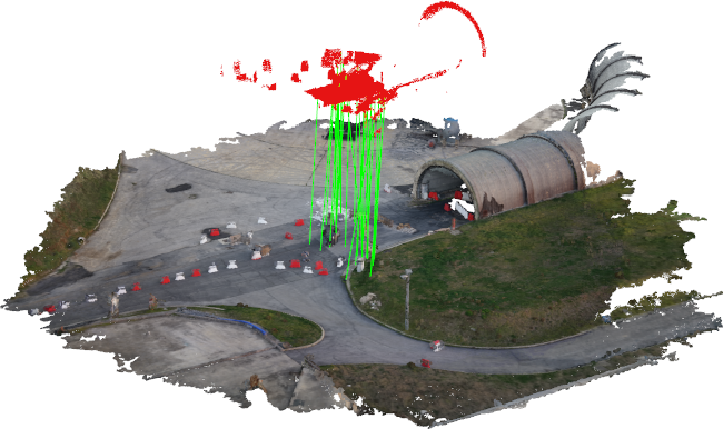 Figure 1 for 3D Registration of Aerial and Ground Robots for Disaster Response: An Evaluation of Features, Descriptors, and Transformation Estimation