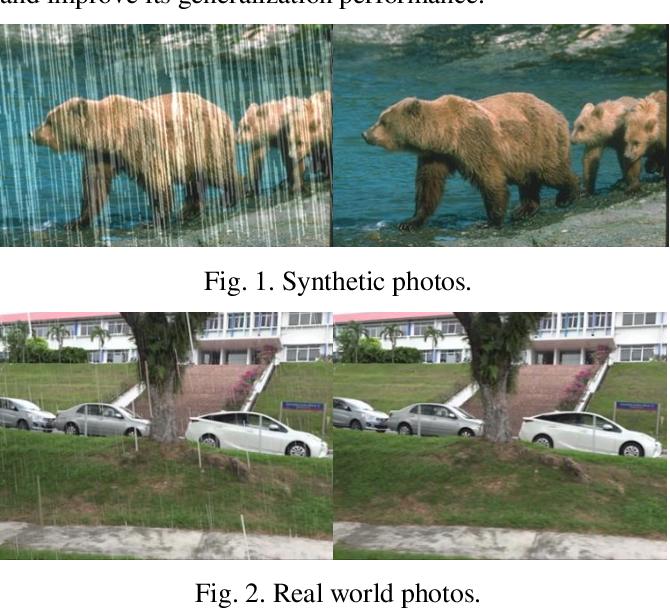 Figure 1 for Image Deraining Convolutional Neural Network ForAutonomous Driving