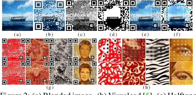 Figure 2 for An End-to-end Method for Producing Scanning-robust Stylized QR Codes
