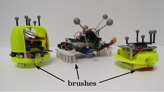 Figure 1 for A Study of a Class of Vibration-Driven Robots: Modeling, Analysis, Control and Design of the Brushbot