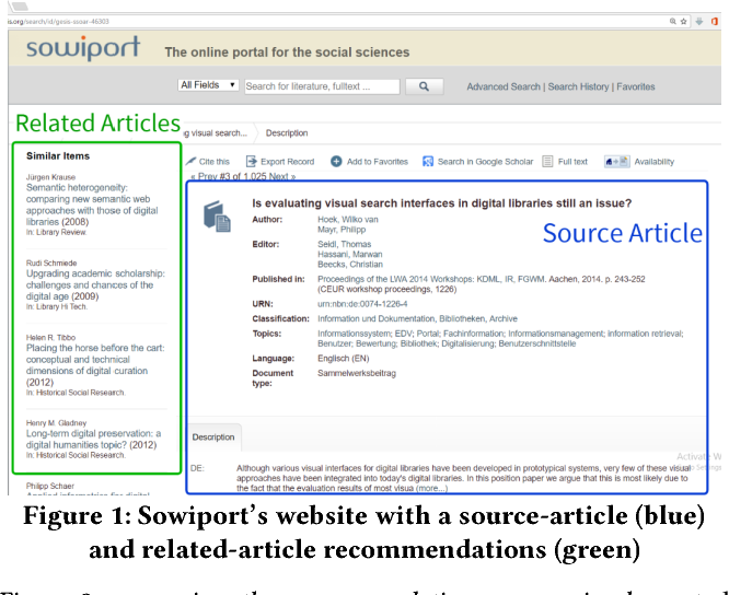 Figure 1 for RARD II: The 2nd Related-Article Recommendation Dataset