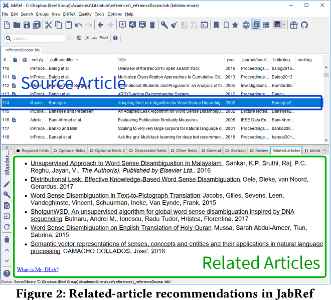 Figure 3 for RARD II: The 2nd Related-Article Recommendation Dataset