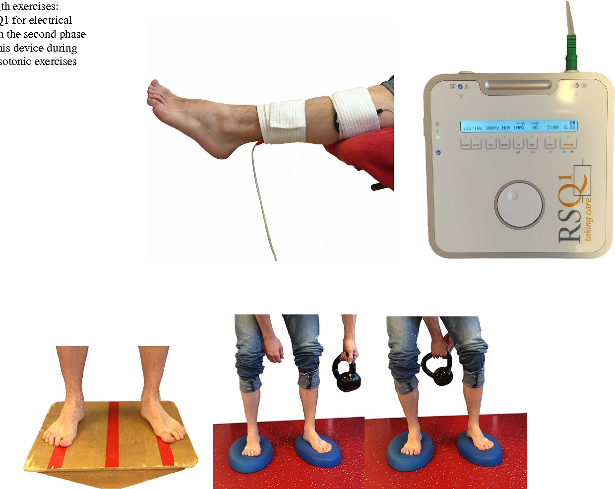 Figure 3 from Rehabilitation after surgical treatment of