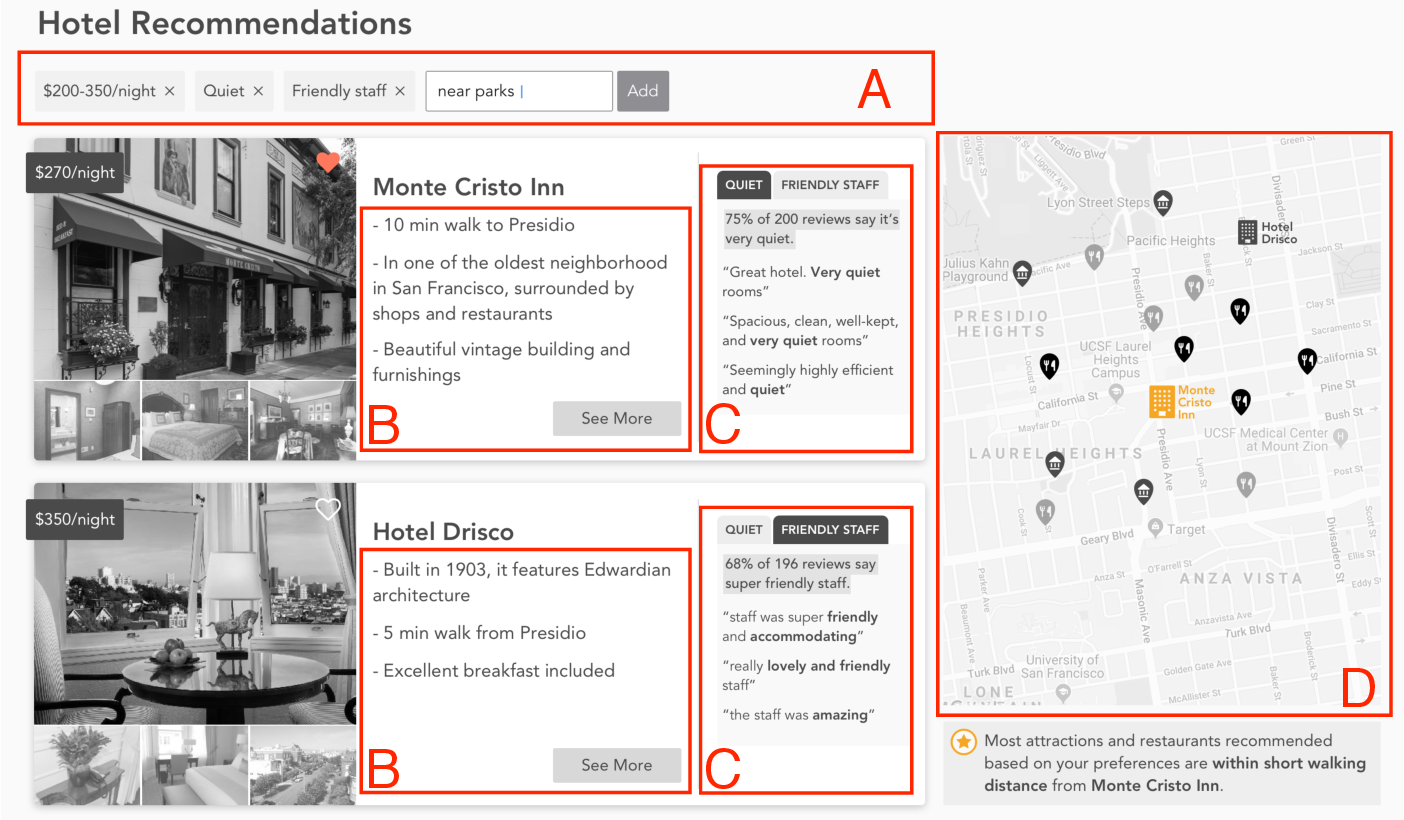 Figure 2 for Voyageur: An Experiential Travel Search Engine