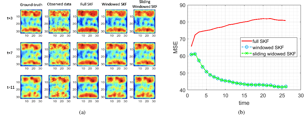 Figure 2 for Spatial-temporal switching estimators for imaging locally concentrated dynamics