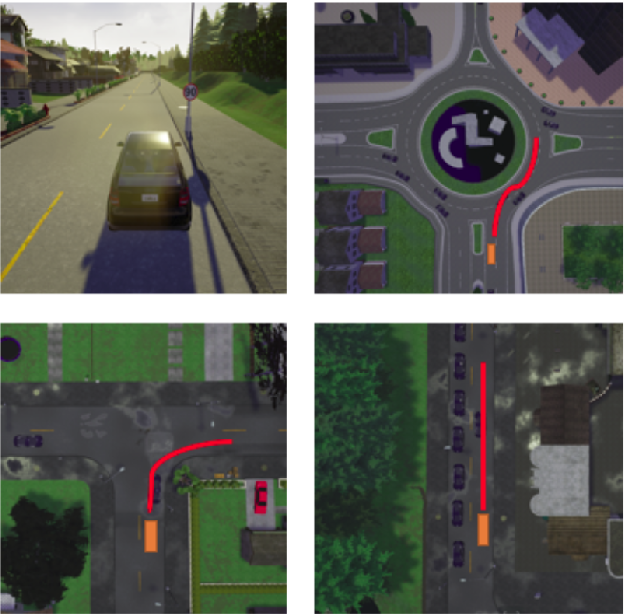 Figure 2 for Guided Policy Search Model-based Reinforcement Learning for Urban Autonomous Driving