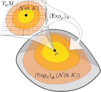 Figure 4 for Probabilistic Riemannian submanifold learning with wrapped Gaussian process latent variable models