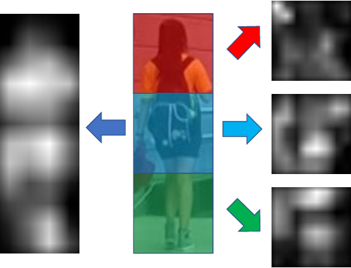 Figure 3 for Learning Discriminative Features with Multiple Granularities for Person Re-Identification