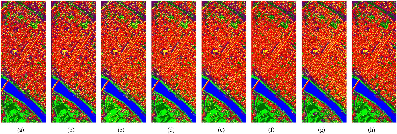 Figure 3 for Simultaneous Spectral-Spatial Feature Selection and Extraction for Hyperspectral Images