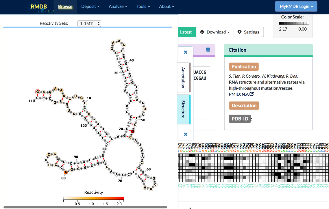 Figure 4 from Updates to the RNA mapping database (RMDB), version 2