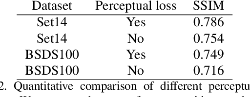 Figure 4 for SRPGAN: Perceptual Generative Adversarial Network for Single Image Super Resolution