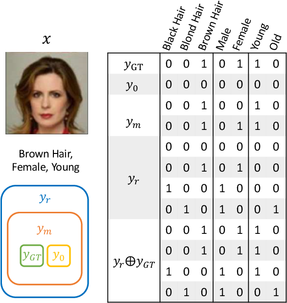 Figure 3 for DLGAN: Disentangling Label-Specific Fine-Grained Features for Image Manipulation