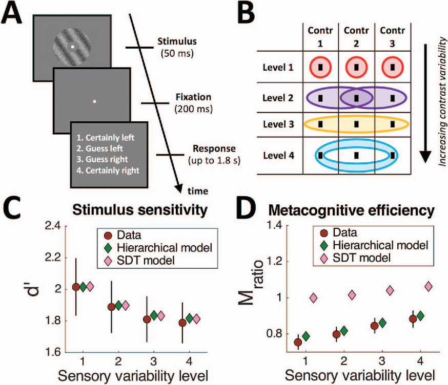 Figure 4 from Sensory noise increases metacognitive