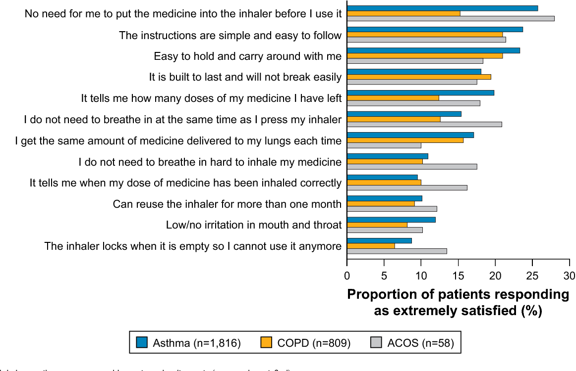 Maintenance Inhaler Preference Attribute Importance And