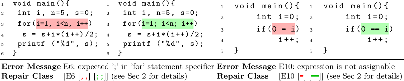 Figure 1 for MACER: A Modular Framework for Accelerated Compilation Error Repair