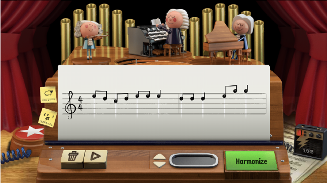 Figure 1 for The Bach Doodle: Approachable music composition with machine learning at scale