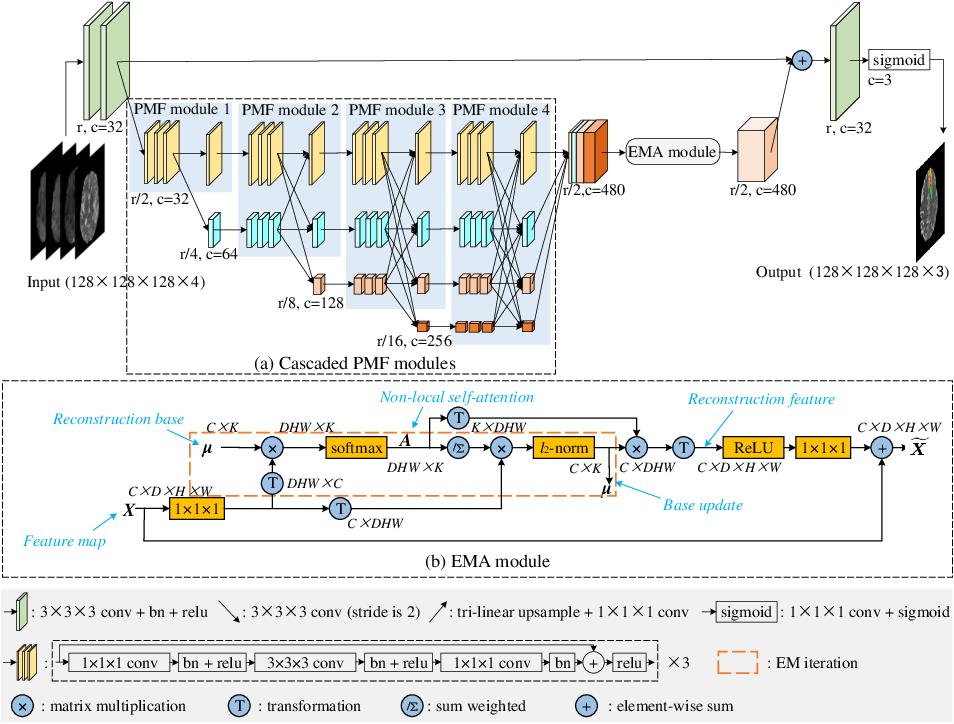 Figure 3 for H2NF-Net for Brain Tumor Segmentation using Multimodal MR Imaging: 2nd Place Solution to BraTS Challenge 2020 Segmentation Task