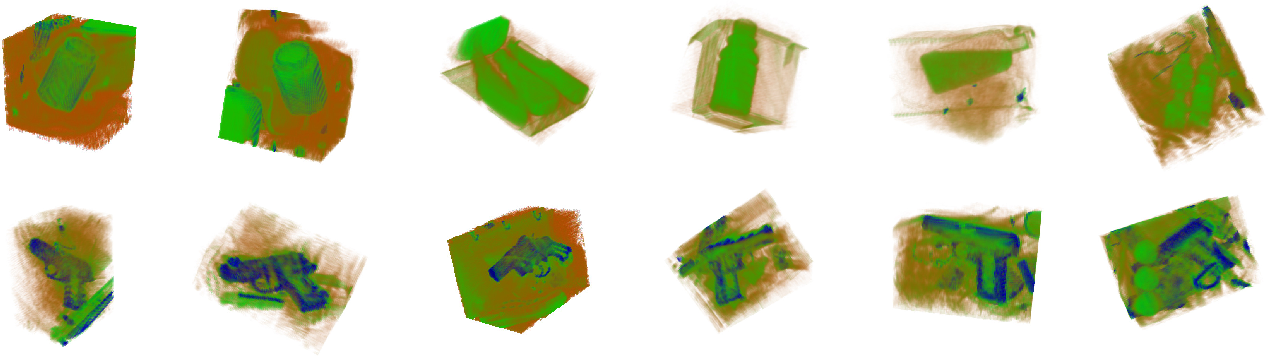 Figure 3 for On the Evaluation of Prohibited Item Classification and Detection in Volumetric 3D Computed Tomography Baggage Security Screening Imagery