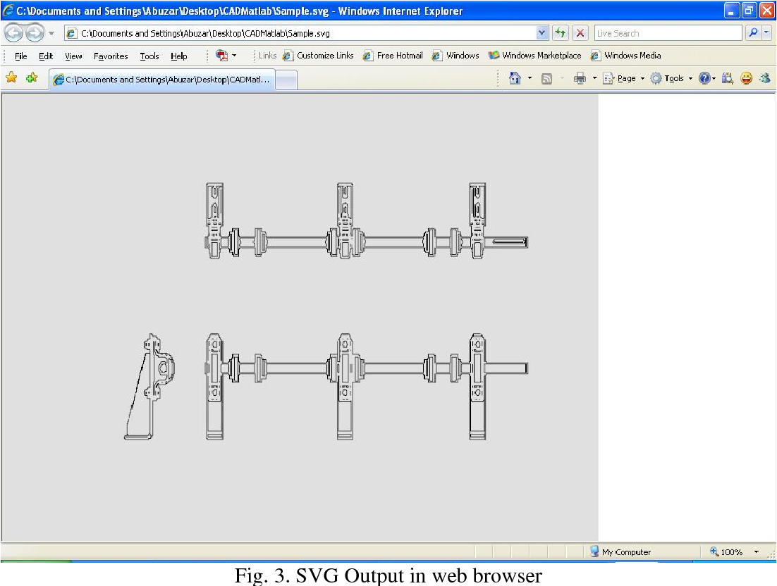 PDF] Representation of Engineering Drawings in SVG and DXF