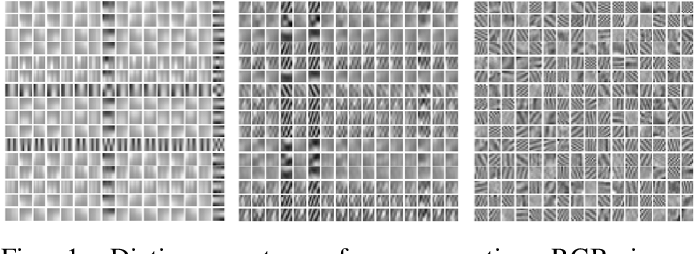 Figure 1 for Learning Mixtures of Separable Dictionaries for Tensor Data: Analysis and Algorithms