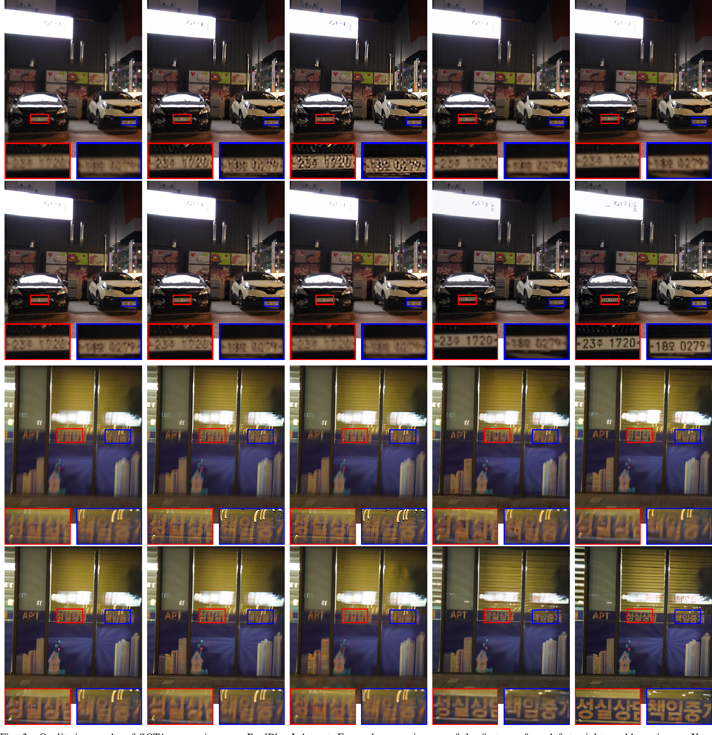 Figure 3 for Edge Prior Augmented Networks for Motion Deblurring on Naturally Blurry Images
