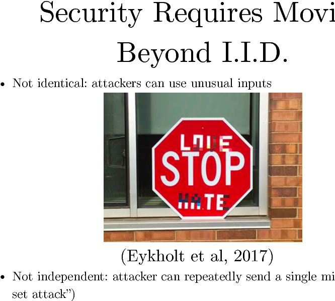 Figure 4 for Defense Against the Dark Arts: An overview of adversarial example security research and future research directions