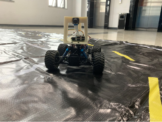 Figure 1 for Self-driving scale car trained by Deep reinforcement Learning