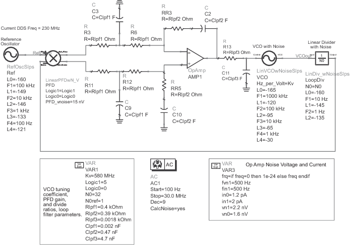 A fast-switching low-spurious 6–18 GHz hybrid frequency synthesizer