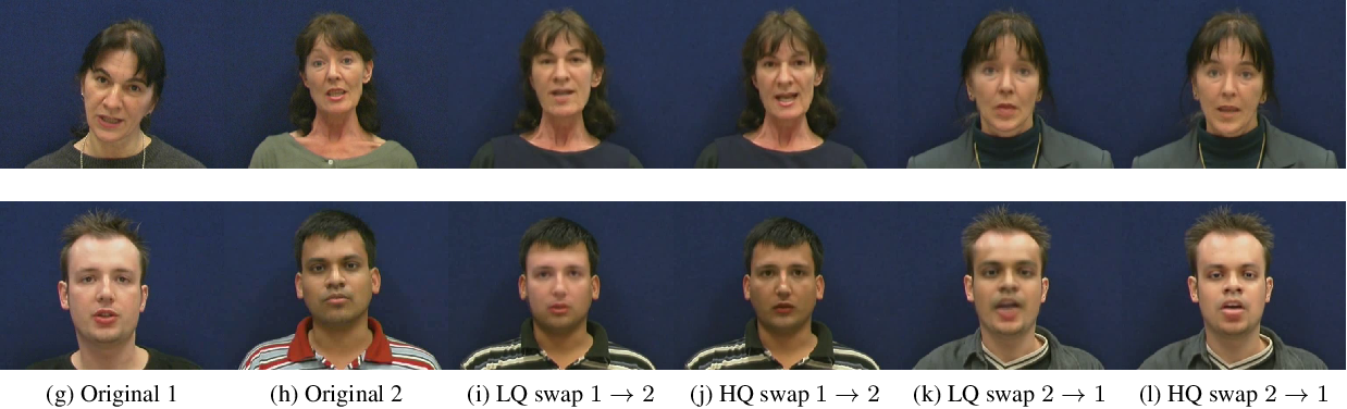 Figure 2 for Vulnerability of Face Recognition to Deep Morphing