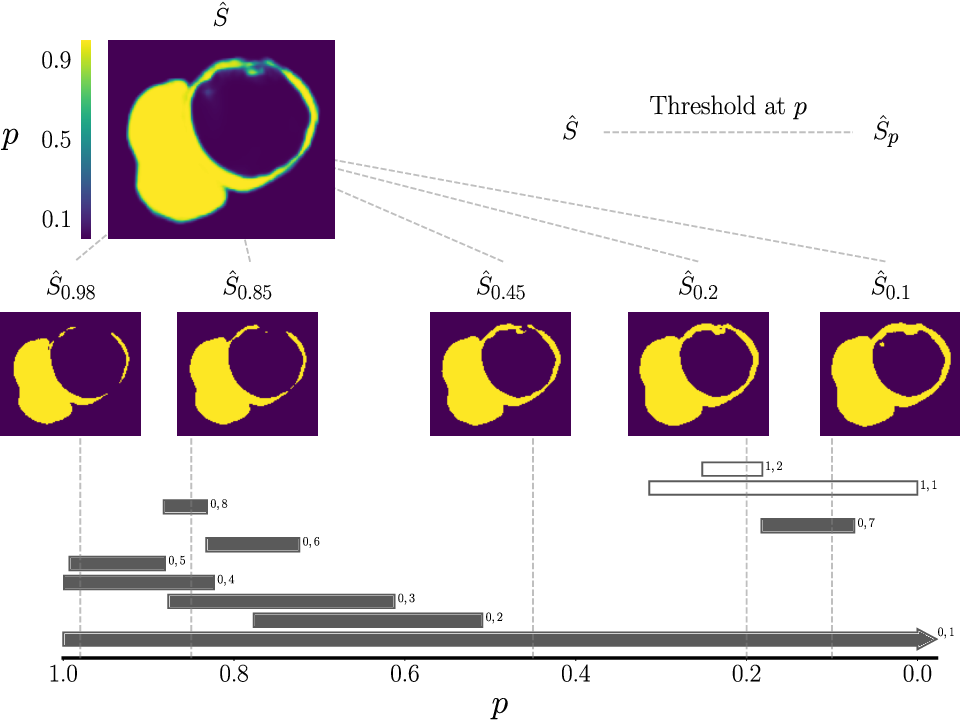 Figure 1 for A persistent homology-based topological loss function for multi-class CNN segmentation of cardiac MRI