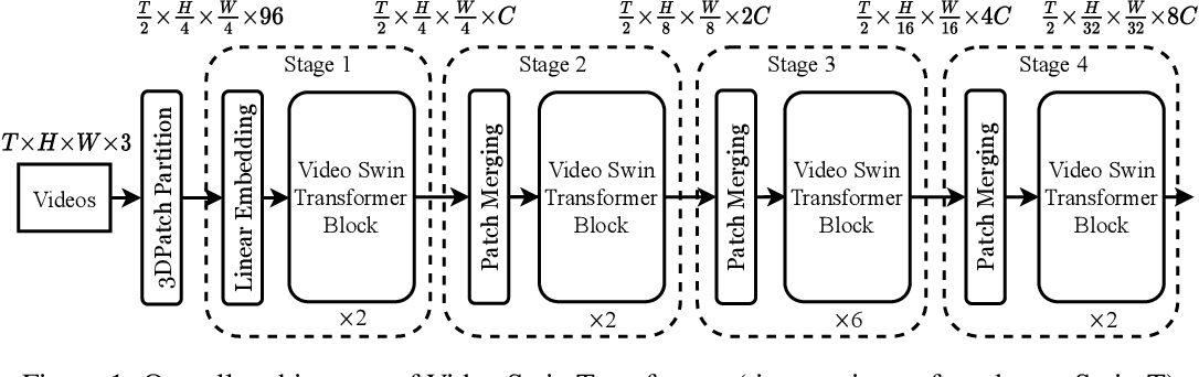 Figure 1 for Video Swin Transformer