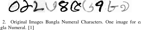 Figure 2 for Pixel-level Reconstruction and Classification for Noisy Handwritten Bangla Characters