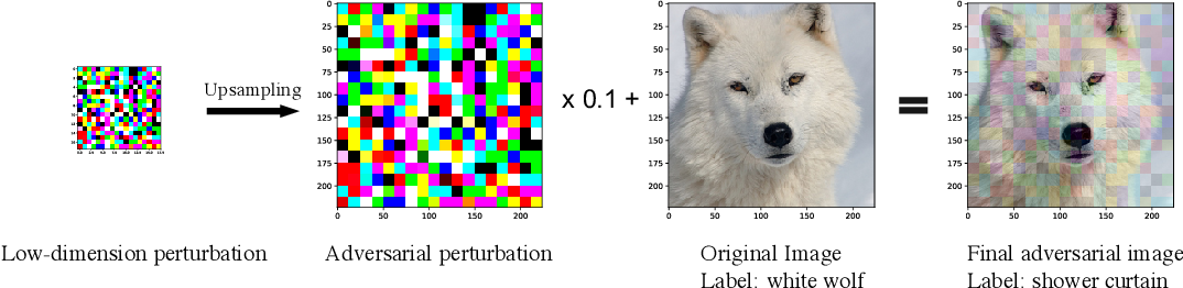 Figure 2 for Hard Label Black-box Adversarial Attacks in Low Query Budget Regimes
