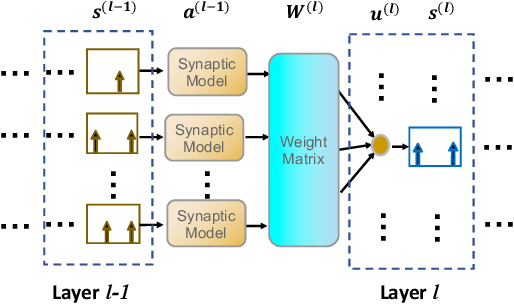 Figure 1 for Skip-Connected Self-Recurrent Spiking Neural Networks with Joint Intrinsic Parameter and Synaptic Weight Training