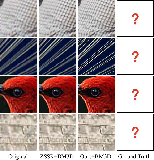 Figure 1 for SimUSR: A Simple but Strong Baseline for Unsupervised Image Super-resolution