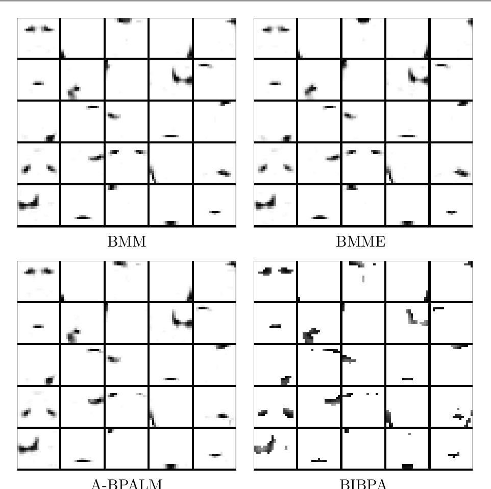 Figure 4 for Block Alternating Bregman Majorization Minimization with Extrapolation