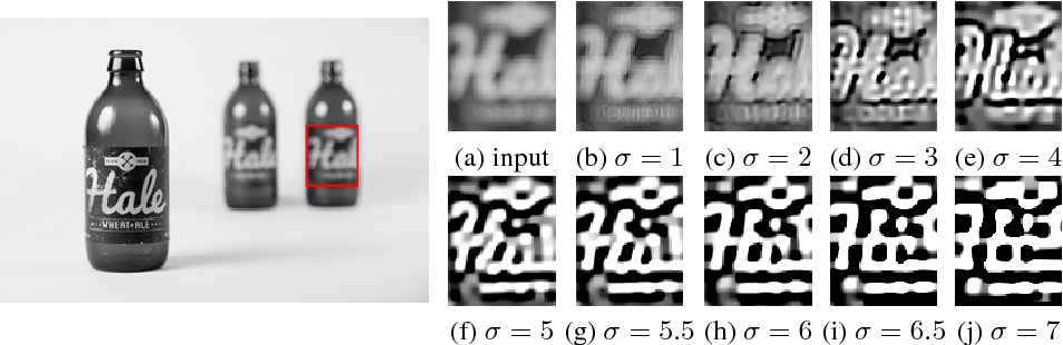 Figure 3 for Removing out-of-focus blur from a single image