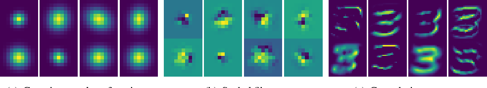 Figure 4 for Learning Filter Scale and Orientation In CNNs