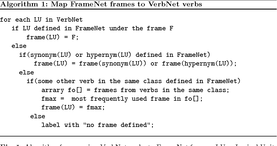 Putting Pieces Together: Combining FrameNet, VerbNet and WordNet for ...