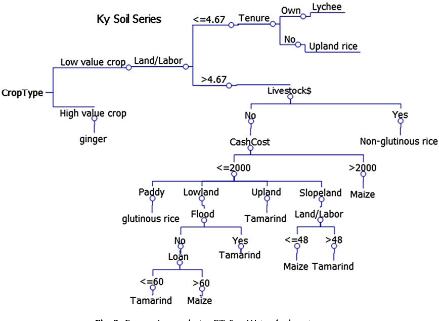 Figure 3 from Searching for simplified farmers' crop choice