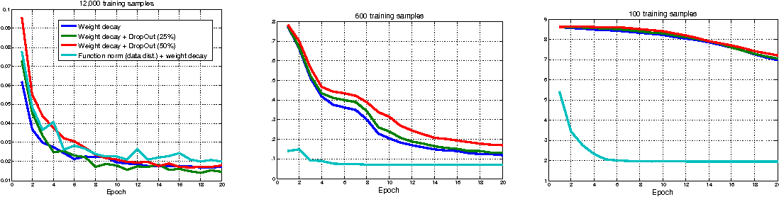 Figure 1 for Stochastic Function Norm Regularization of Deep Networks