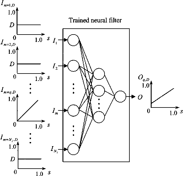 Efficient Approximation Of Neural Filters For Removing Quantum Noise