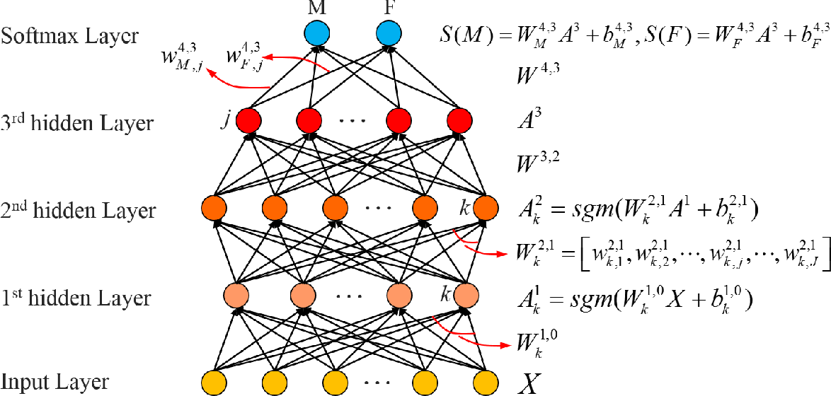 Figure 2 for Deep Learning and Bayesian Deep Learning Based Gender Prediction in Multi-Scale Brain Functional Connectivity