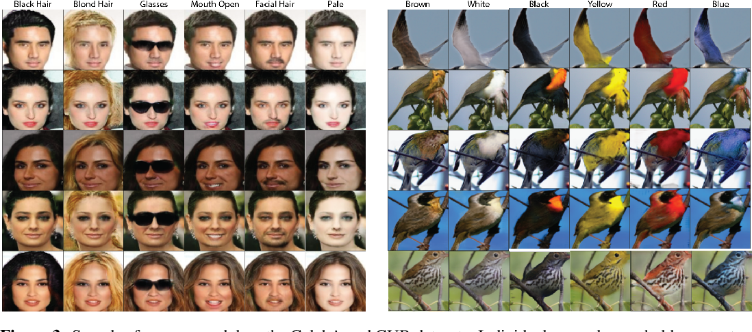 Figure 4 for Image-to-image Mapping with Many Domains by Sparse Attribute Transfer