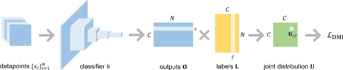 Figure 1 for L_DMI: An Information-theoretic Noise-robust Loss Function