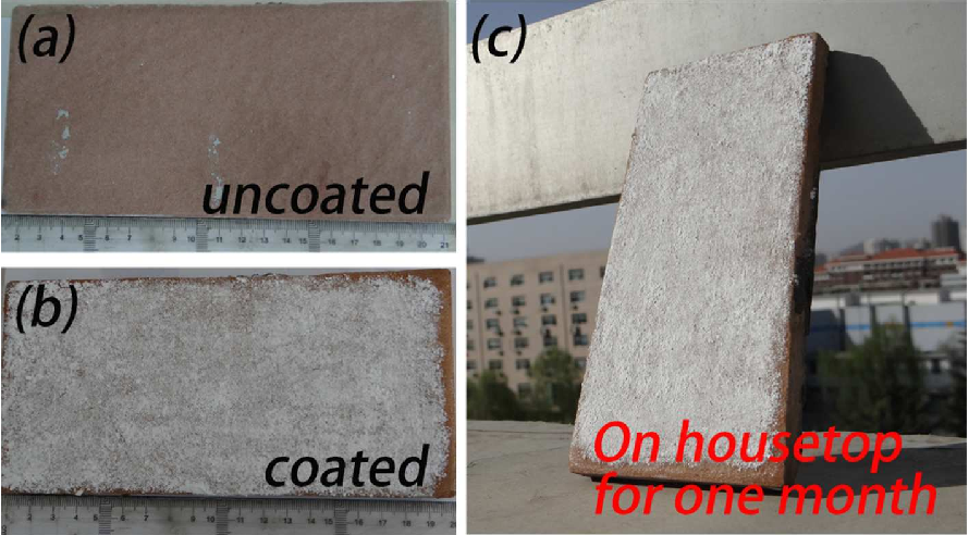 Figure From A Robust Epoxy Resins Stearic AcidMgOH - Ceramic tile protective coating