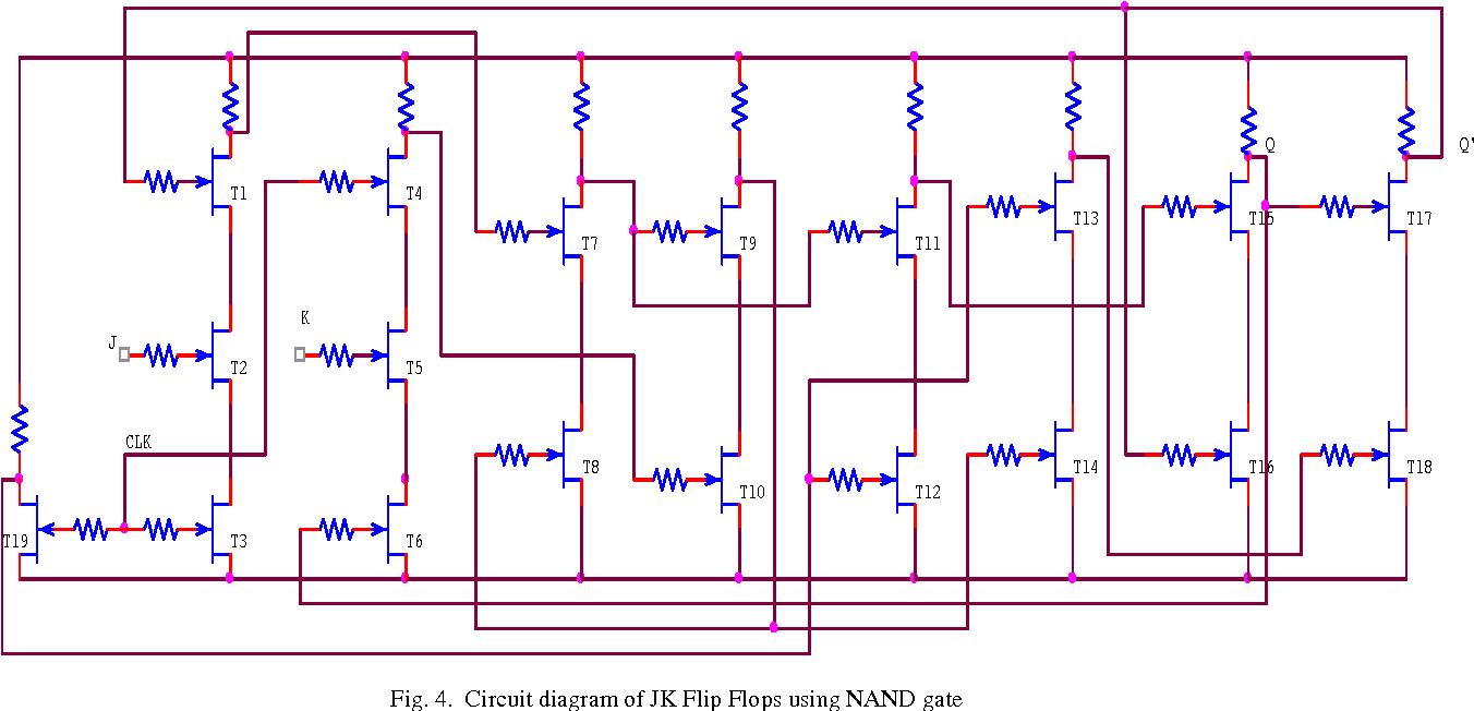 Design Of Jk Flip Flop Using Modfet Technology Semantic Scholar Circuit Diagram