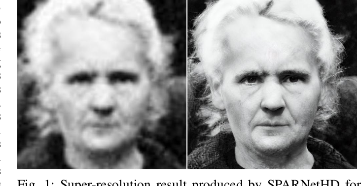 Figure 1 for Learning Spatial Attention for Face Super-Resolution